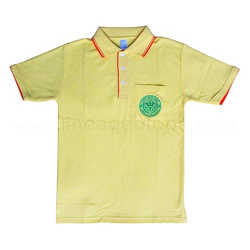เสื้อโปโล สีเหลือง ป้องกันการทุจริต